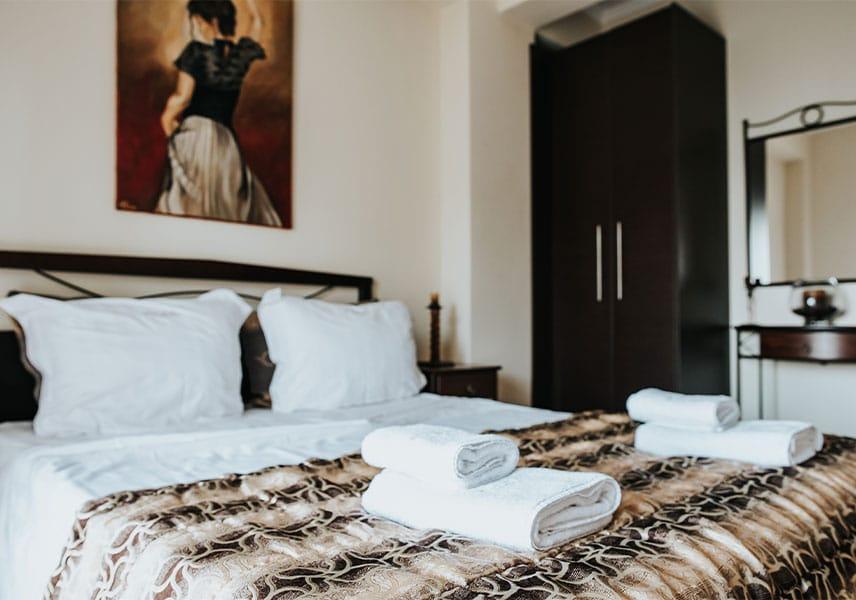 Villa Milena - Αρχική Καφέ Δωμάτιο