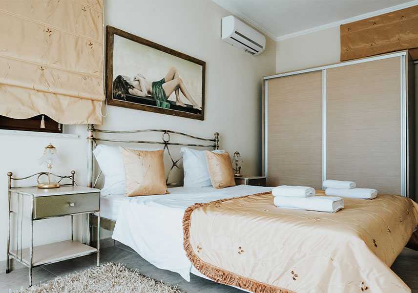 Villa Milena - Αρχική Πράσινο Δωμάτιο